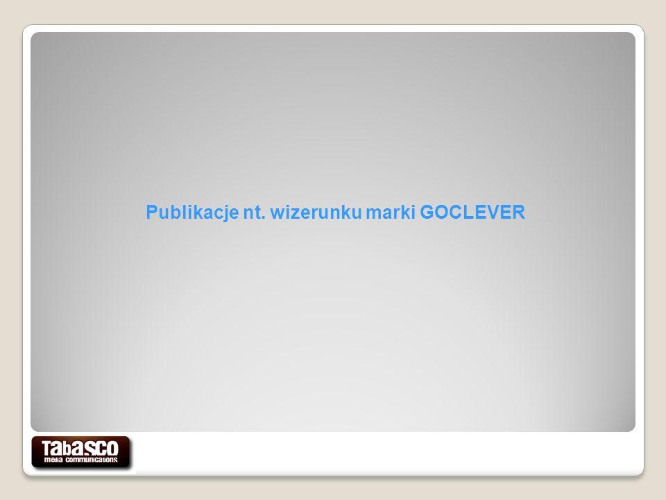 Publikacje nt. wizerunku marki GOCLEVER