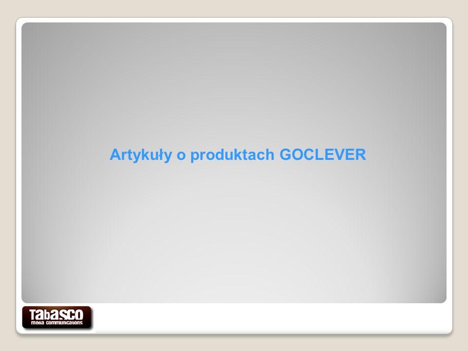 Artykuły o produktach GOCLEVER