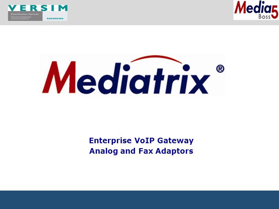 Adaptery analogowe 2 FXS (4102)8 FXS (4108) 16 FXS (4116) 24 FXS (4124) 1 WAN Fast Eth 1 LAN Fast Eth 8 do 24 linii2 – 4 linie RJ-11 Bypass 4 FXS (4104) Zasilanie zewn.Zasilacz wewnętrzny DesktopWersja rack 4 FXO (1204)