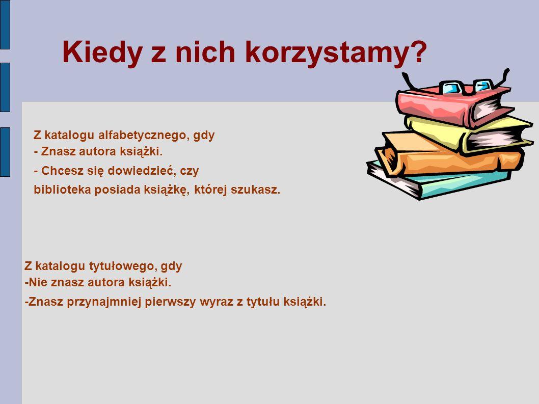 KATALOG RZECZOWY – typ katalogu w którym podstawą porządkowania opisów bibliograficznych dokumentów są ich cechy treściowe KATALOG Działowy KATALOG Systematyczny Dzielimy na :