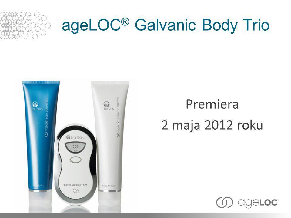 ageLOC ® Galvanic Body Trio Premiera 2 maja 2012 roku