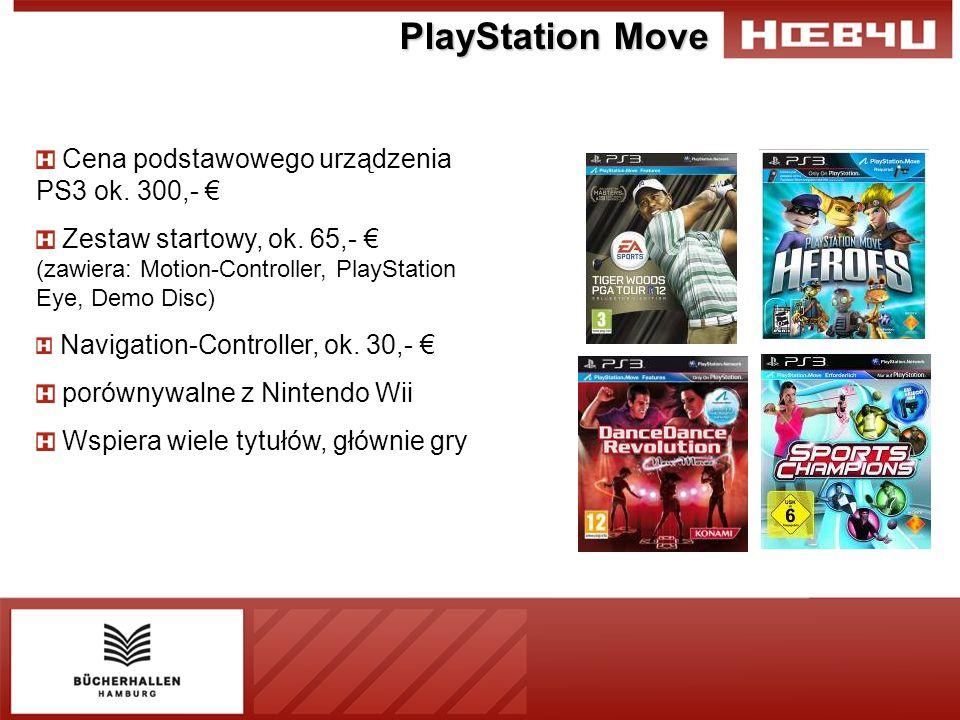 PlayStation Move Cena podstawowego urządzenia PS3 ok.