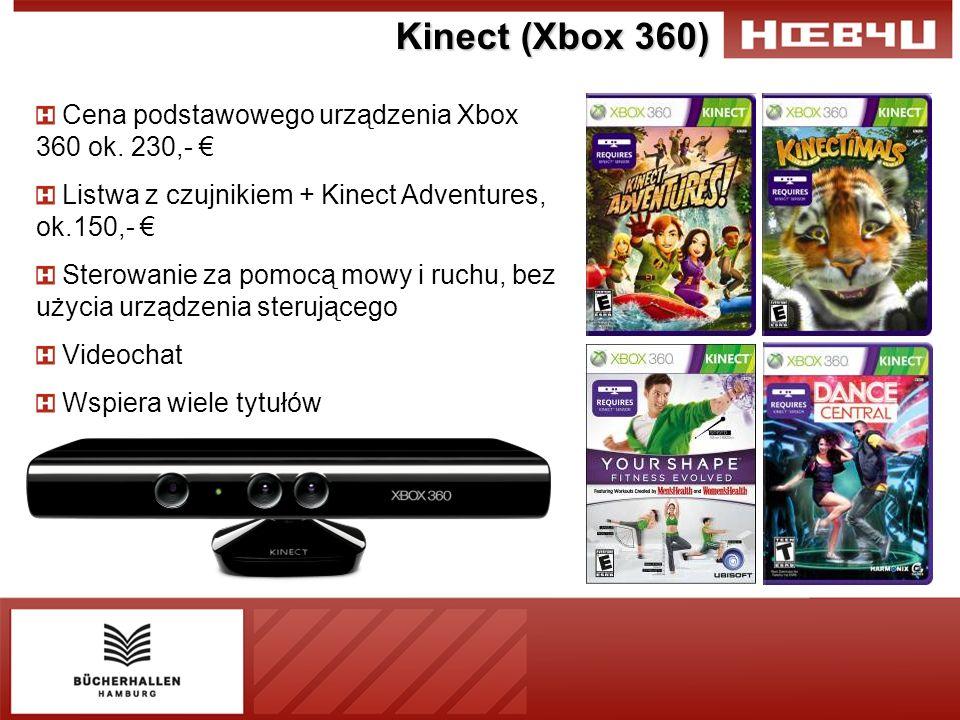Kinect (Xbox 360) Cena podstawowego urządzenia Xbox 360 ok.