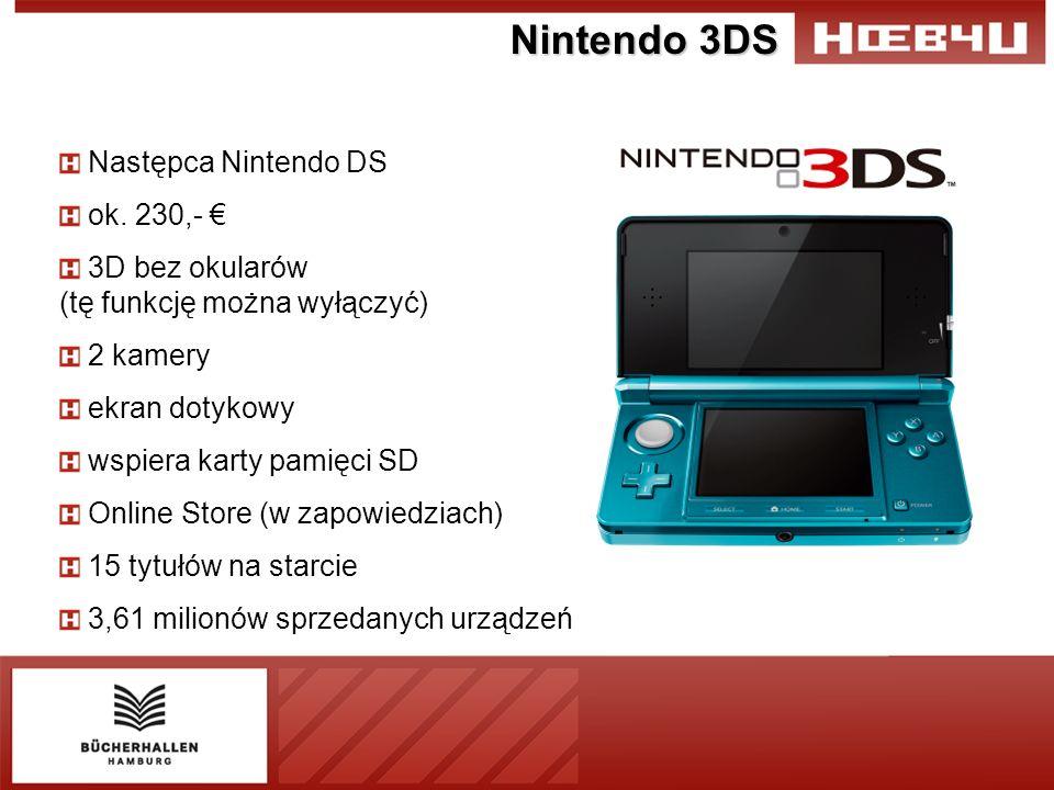 Nintendo 3DS Następca Nintendo DS ok.