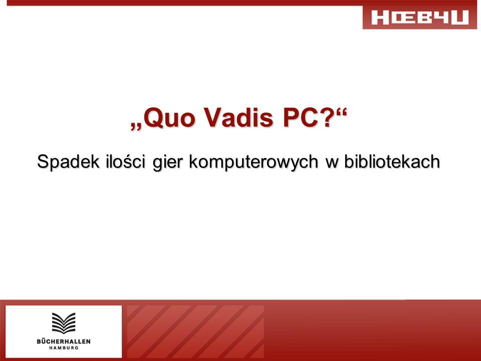 Quo Vadis PC Spadek ilości gier komputerowych w bibliotekach