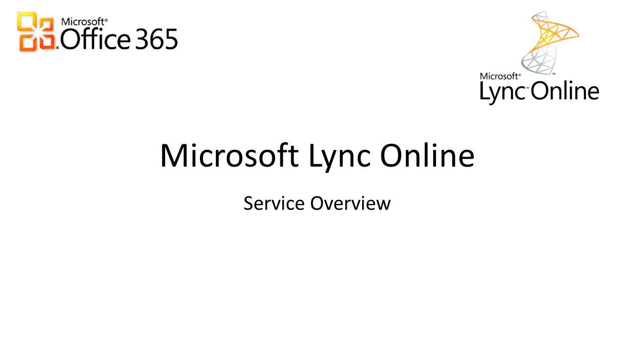 What is Microsoft Lync Online .