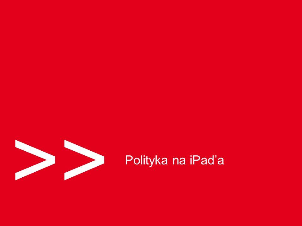 >> Polityka na iPada