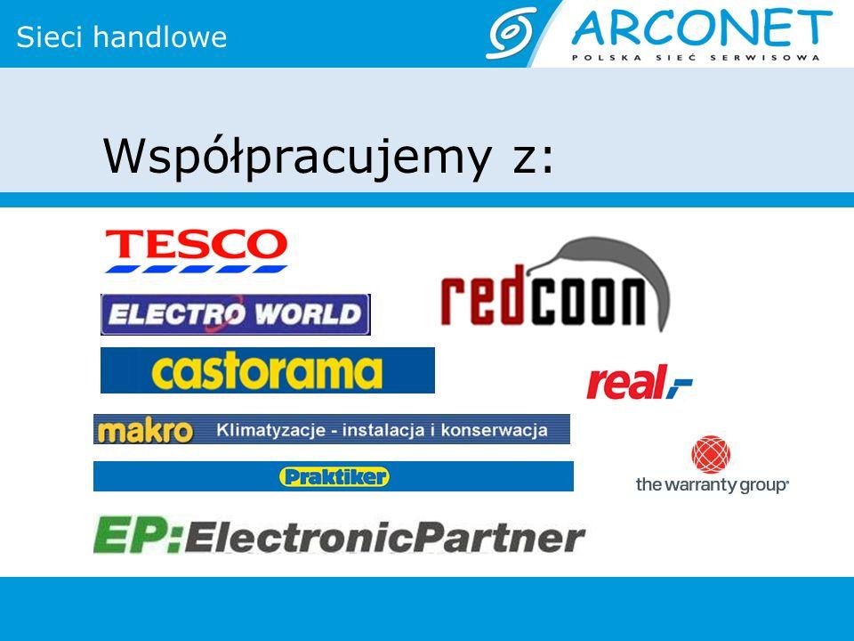 Sieci handlowe Współpracujemy z: