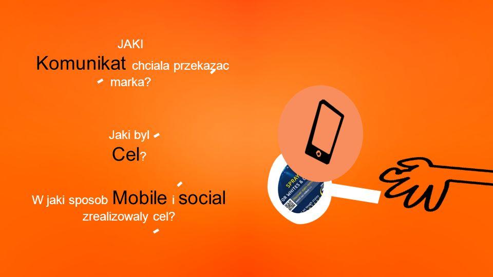 W jaki sposob Mobile i social zrealizowaly cel. Jaki byl Cel .