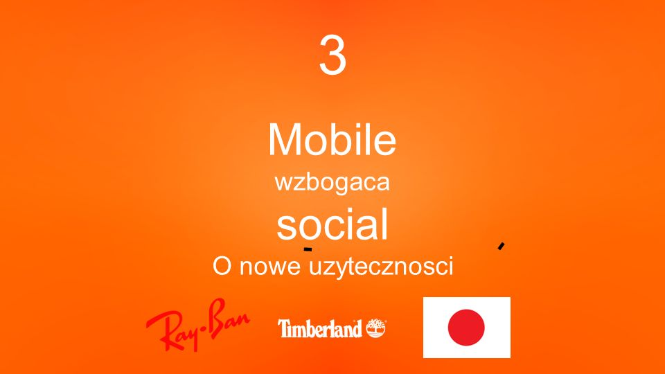3 Mobile wzbogaca social O nowe uzytecznosci