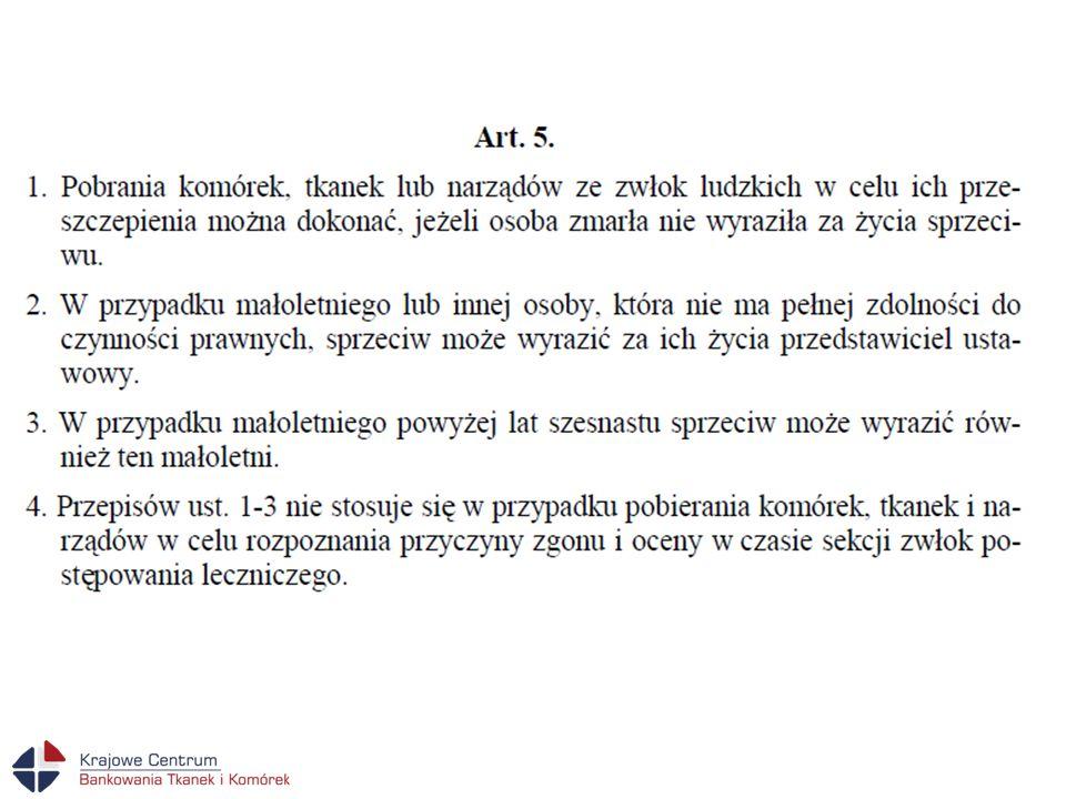 Uwagi praktyczne Ustawa z dnia 1 lipca 2005 r.