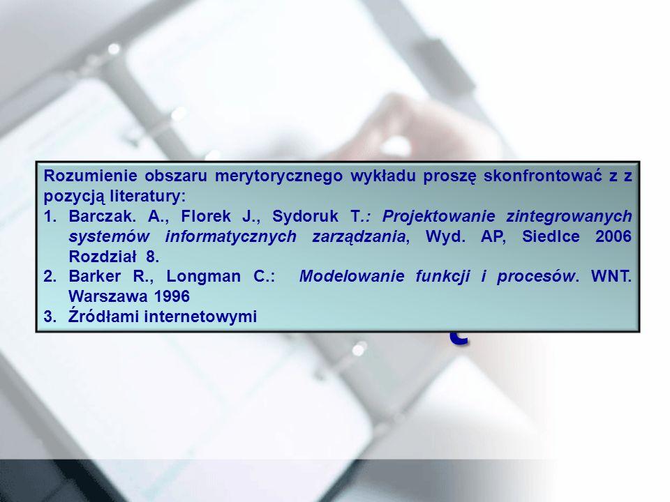 DZIĘKUJĘ ZA UWAGĘ! Rozumienie obszaru merytorycznego wykładu proszę skonfrontować z z pozycją literatury: 1.Barczak. A., Florek J., Sydoruk T.: Projek