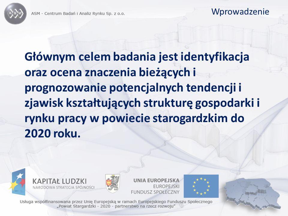 Sytuacja gospodarcza Odchylenie (w %) produkcji sprzedanej przemysłu na jednego mieszkańca w województwie pomorskim i powiecie starogardzkim od średniej krajowej w latach 2002-2007
