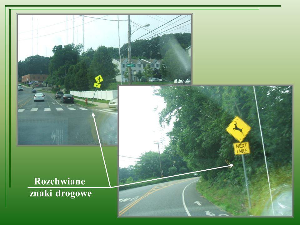 Rozchwiane znaki drogowe