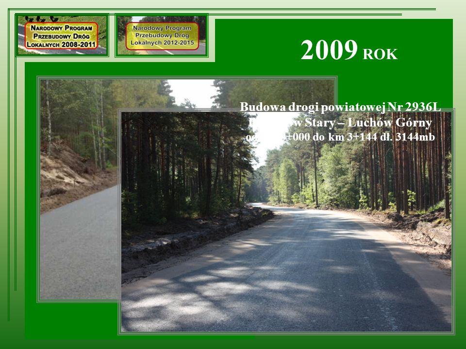 Remont ciągu dróg powiatowych: Nr 2315L Kol.