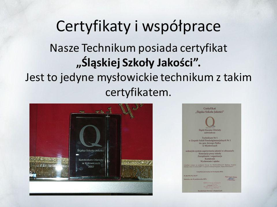 Wyniki egzaminów maturalnych Wyniki egzaminu maturalnego w naszej szkole są powyżej średniej dla Śląska.
