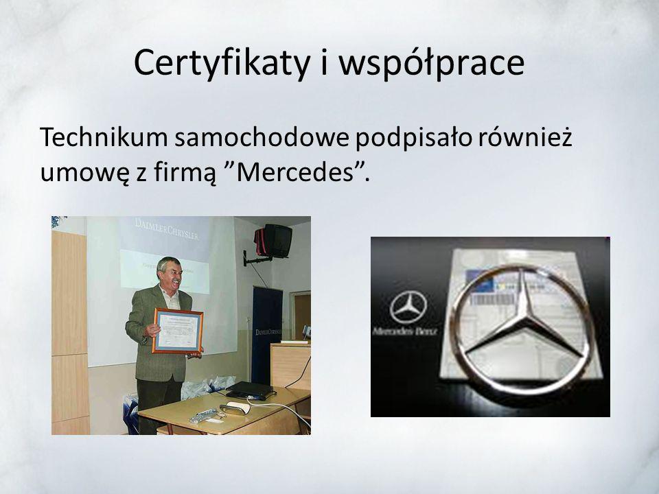 Certyfikaty i współprace Nasze Technikum posiada certyfikat Śląskiej Szkoły Jakości. Jest to jedyne mysłowickie technikum z takim certyfikatem.