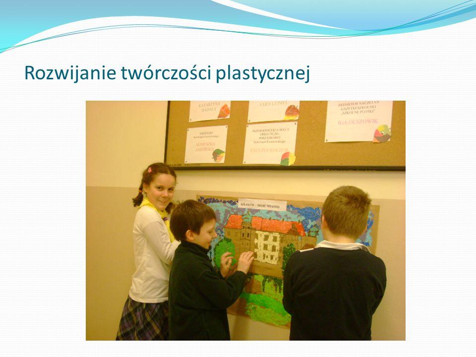 Rozwijanie twórczości plastycznej