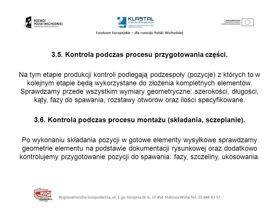 Regionalna Izba Gospodarcza, ul. 1-go Sierpnia 26 b, 37-450 Stalowa Wola, tel. 15 844 03 57 Fundusze Europejskie – dla rozwoju Polski Wschodniej 3.5.