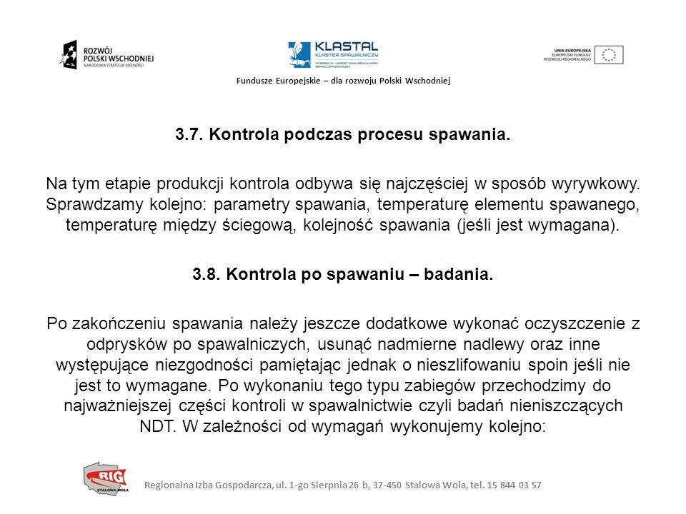 Regionalna Izba Gospodarcza, ul. 1-go Sierpnia 26 b, 37-450 Stalowa Wola, tel. 15 844 03 57 Fundusze Europejskie – dla rozwoju Polski Wschodniej 3.7.