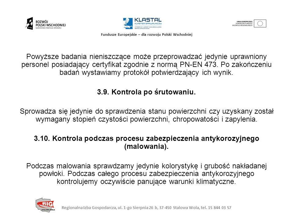 Regionalna Izba Gospodarcza, ul. 1-go Sierpnia 26 b, 37-450 Stalowa Wola, tel. 15 844 03 57 Fundusze Europejskie – dla rozwoju Polski Wschodniej Powyż