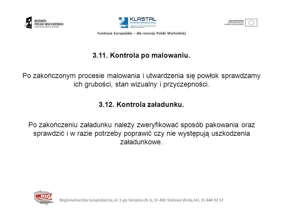 Regionalna Izba Gospodarcza, ul. 1-go Sierpnia 26 b, 37-450 Stalowa Wola, tel. 15 844 03 57 Fundusze Europejskie – dla rozwoju Polski Wschodniej 3.11.