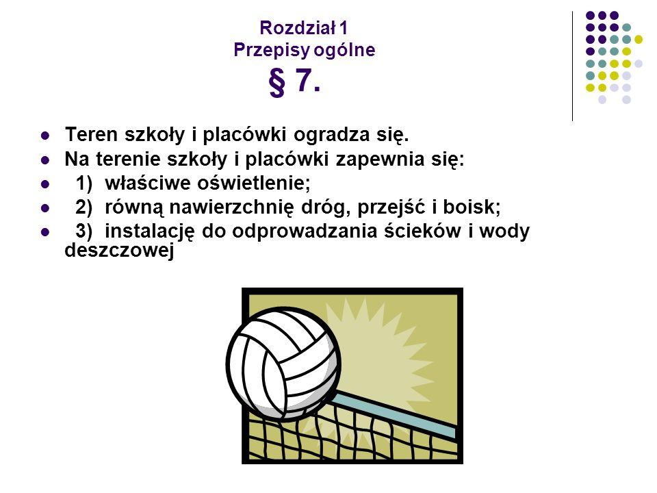 Rozdział 3 Wychowanie fizyczne, sport i turystyka § 34.