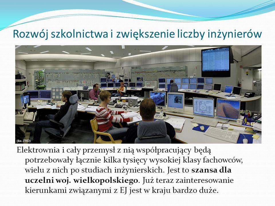 Rozwój szkolnictwa i zwiększenie liczby inżynierów (fot. TVO) Elektrownia i cały przemysł z nią współpracujący będą potrzebowały łącznie kilka tysięcy
