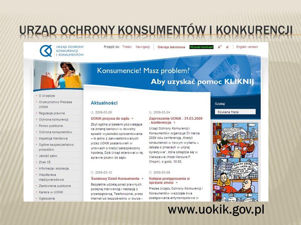 www.uokik.gov.pl
