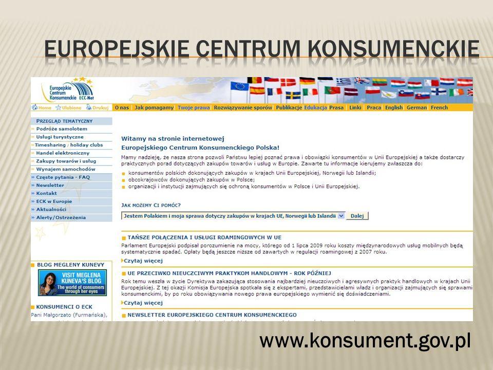 www.konsument.gov.pl