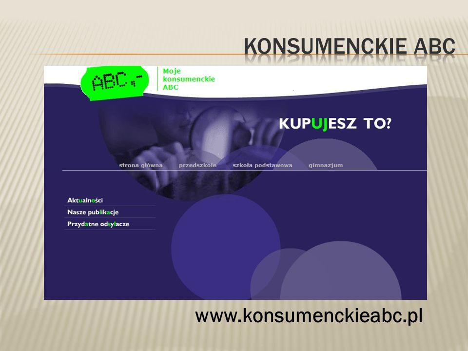 www.konsumenckieabc.pl