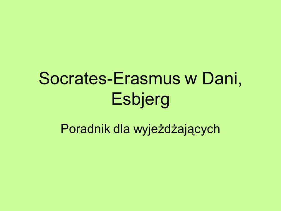 Socrates-Erasmus w Dani, Esbjerg Poradnik dla wyjeżdżających