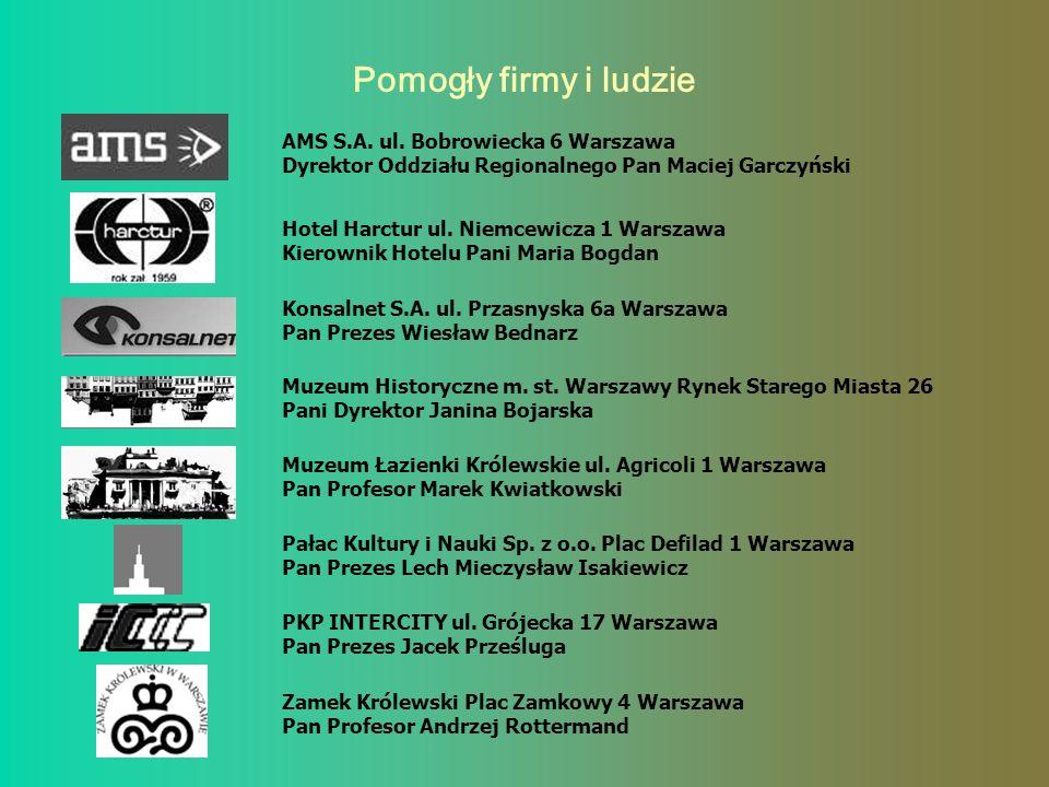 PODRÓŻ ŻYCIA Dzieci z Internatu Specjalnego Ośrodka Wychowawczego na wycieczce w Warszawie 19 i 20 kwietnia 2004 roku Organizacja wycieczki – Ewa Świą