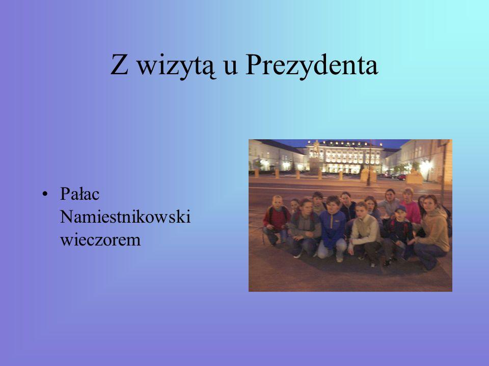 Wieczorny spacer Krakowskie Przedmieście