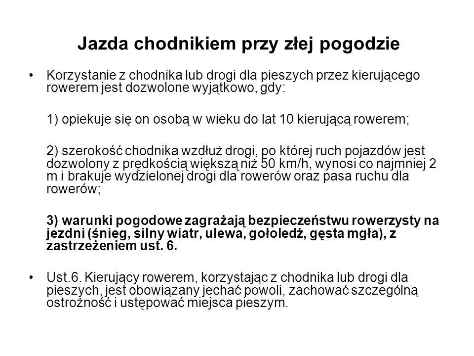 Legalizacja przewozu dzieci w przyczepach rowerowych Zabrania się przewozu osób w przyczepie, z tym że dopuszcza się przewóz: (…) 4) dzieci w przyczepie przystosowanej konstrukcyjnie do przewozu osób, ciągniętej przez rower lub wózek rowerowy.