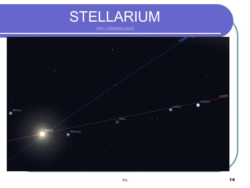 hs 14 STELLARIUM http://stellarium.org/pl/http://stellarium.org/pl/
