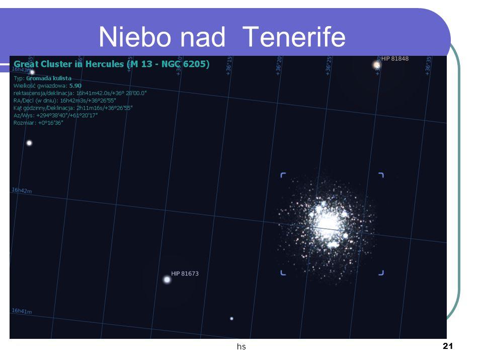 hs 21 Niebo nad Tenerife