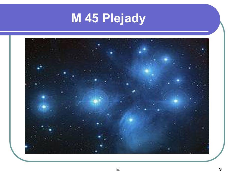 hs 9 M 45 Plejady