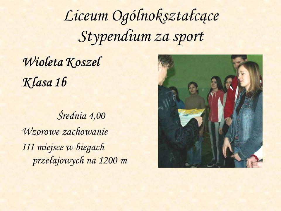 Regionalny Konkurs Wiedzy Ekonomicznej Do etapu międzyszkolnego w Siedlcach zakwalifikował się Bartosz Bieńkowski – LO 2b