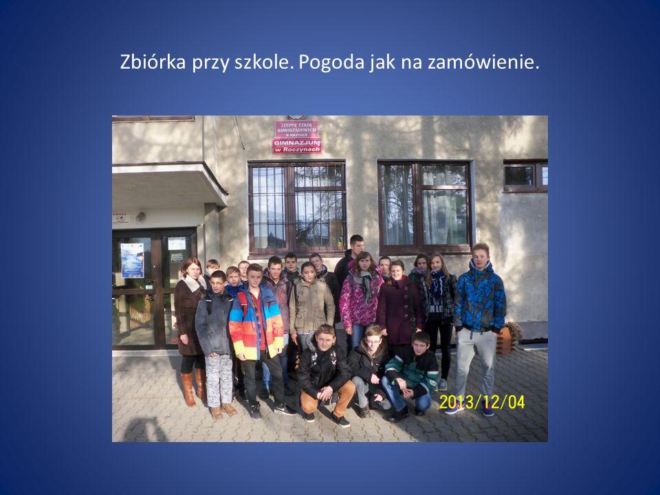 W drodze do stolicy Małopolski.