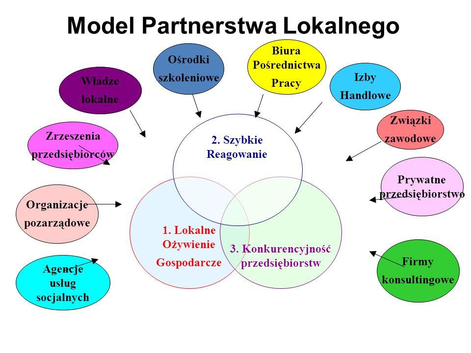 Zrzeszenia przedsiębiorców Władze lokalne Ośrodki szkoleniowe Biura Pośrednictwa Pracy Związki zawodowe Prywatne przedsiębiorstwo Firmy konsultingowe