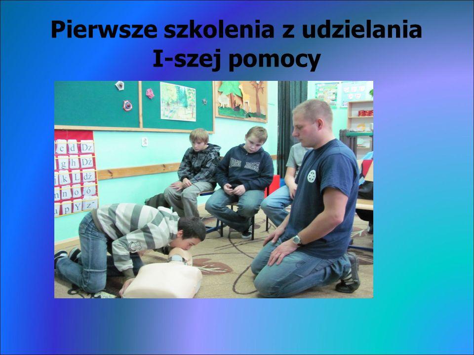 Pierwsze szkolenia z udzielania I-szej pomocy