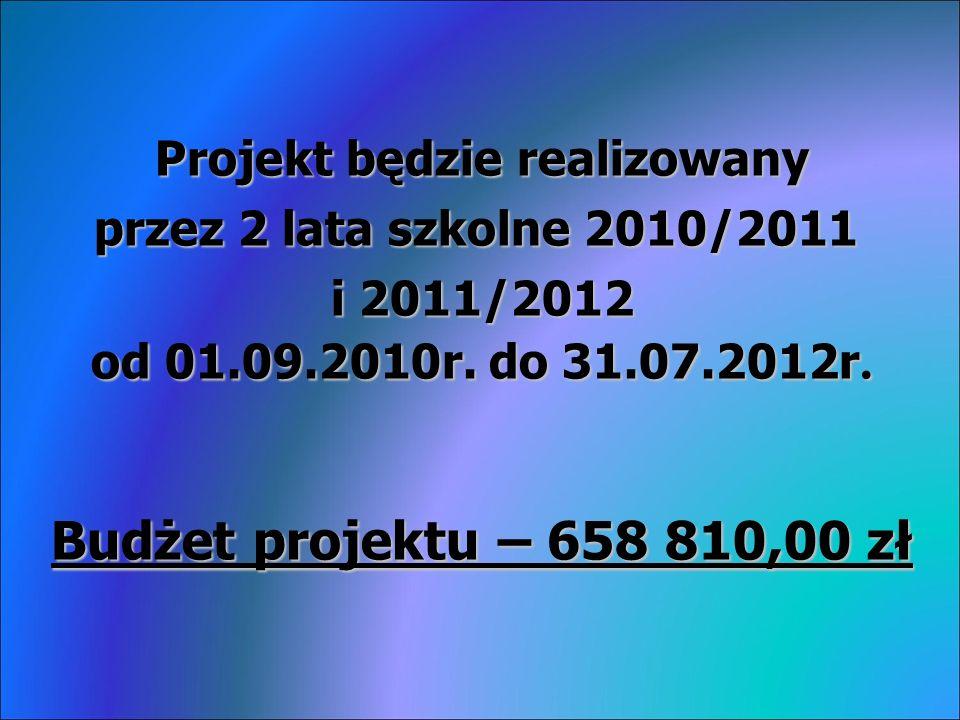 Dodatkowe informacje na temat projektu można uzyskać w biurze projektu, które znajduje się w Urzędzie Gminy lub na stronie : www.smykow.pl Dziękuję za uwagę