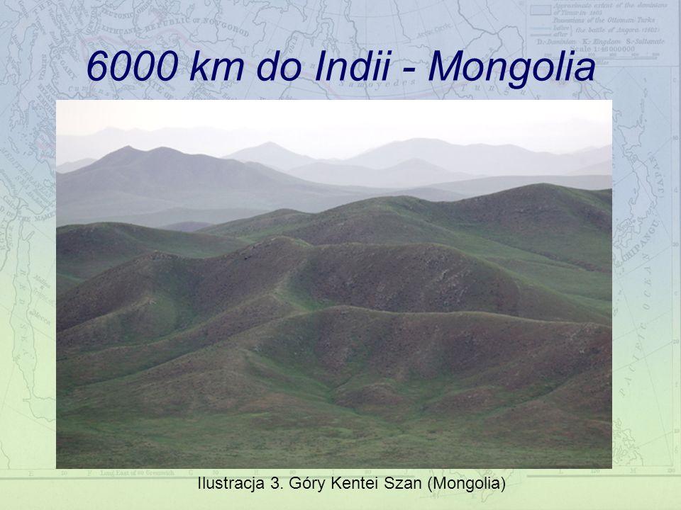 6000 km do Indii - Mongolia Ilustracja 3. Góry Kentei Szan (Mongolia)