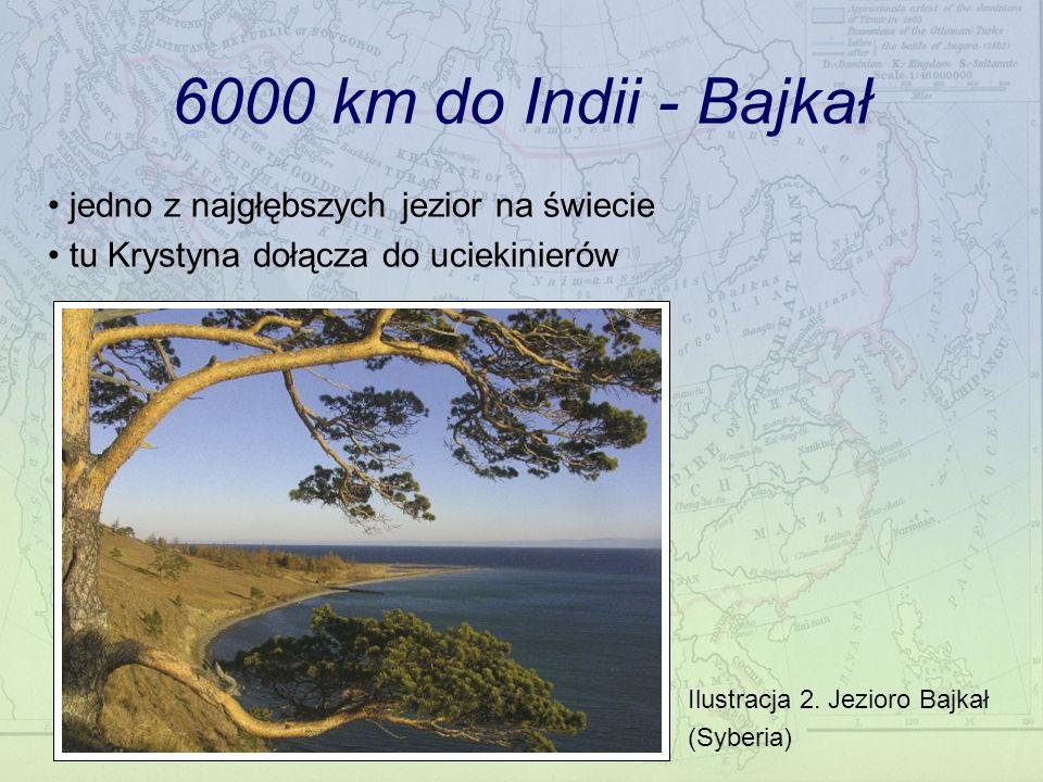 6000 km do Indii - Bajkał jedno z najgłębszych jezior na świecie tu Krystyna dołącza do uciekinierów Ilustracja 2. Jezioro Bajkał (Syberia)