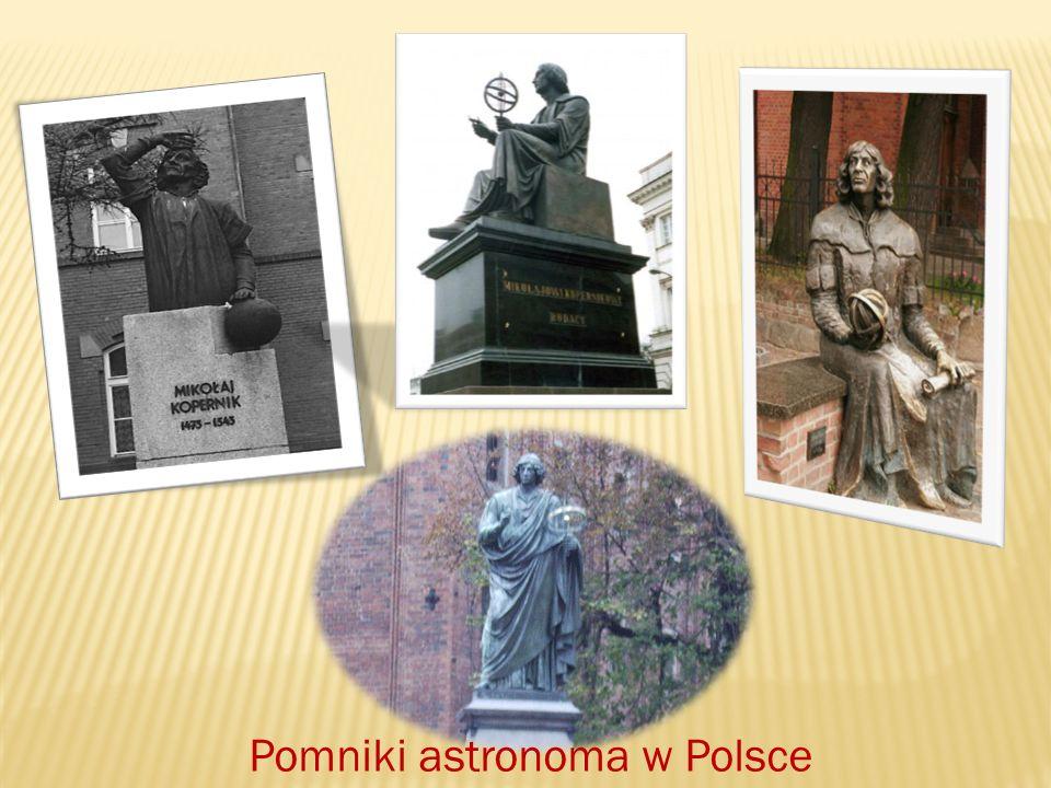 Imię Kopernika nadawano sondom kosmicznym, instytucjom i obiektom na ciałach niebieskich.