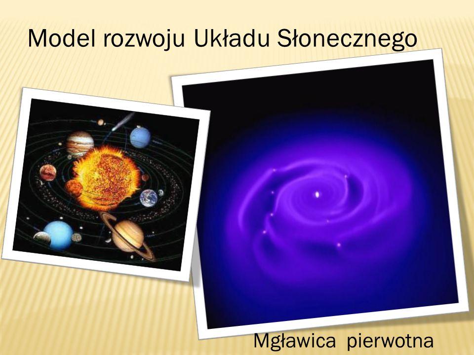 Model rozwoju Układu Słonecznego Mgławica pierwotna