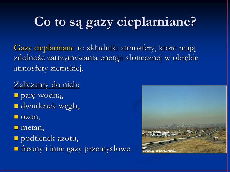 Co to są gazy cieplarniane? Gazy cieplarniane to składniki atmosfery, które mają zdolność zatrzymywania energii słonecznej w obrębie atmosfery ziemski
