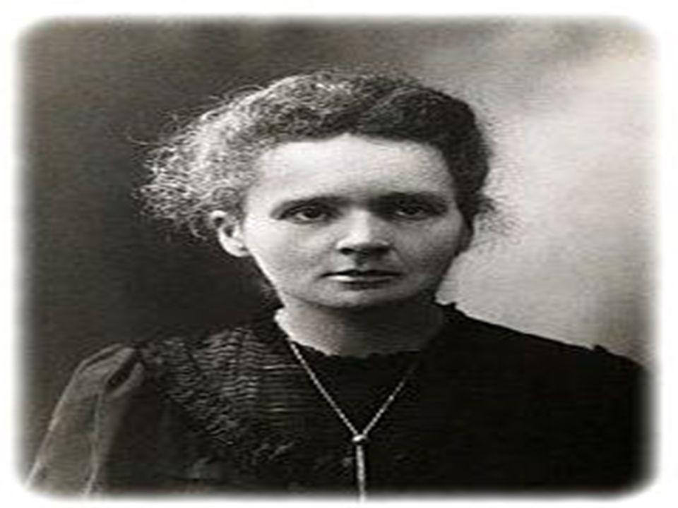 Maria Skłodowska-Curie Urodziła się 7 listopada 1867 w Warszawie, polska uczona, fizyk, chemik, dwukrotna noblistka. Zmarła 4 lipca 1934 w Passy. Otrz