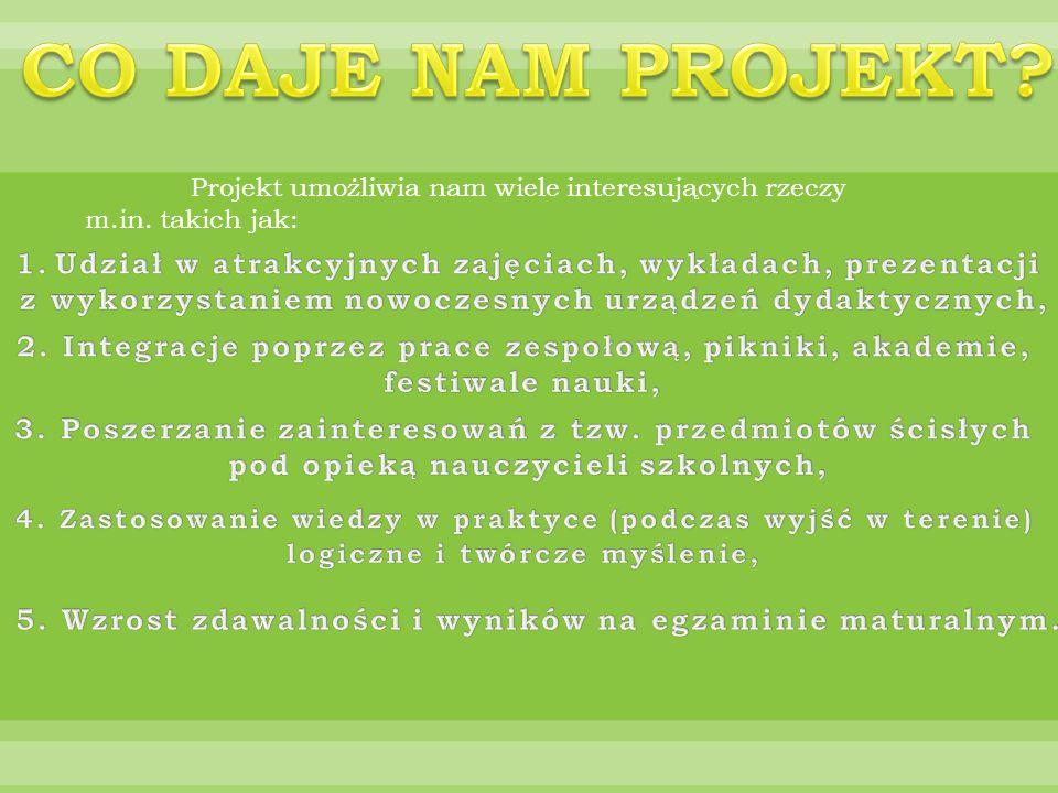 26.06.2011-02.07.2011 W ramach projektu Kompetencje kluczowe drogą do kariery uczestniczyliśmy w Letnim Obozie Naukowym w Człuchowie.
